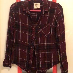 Boyfriend Style burton up flannel